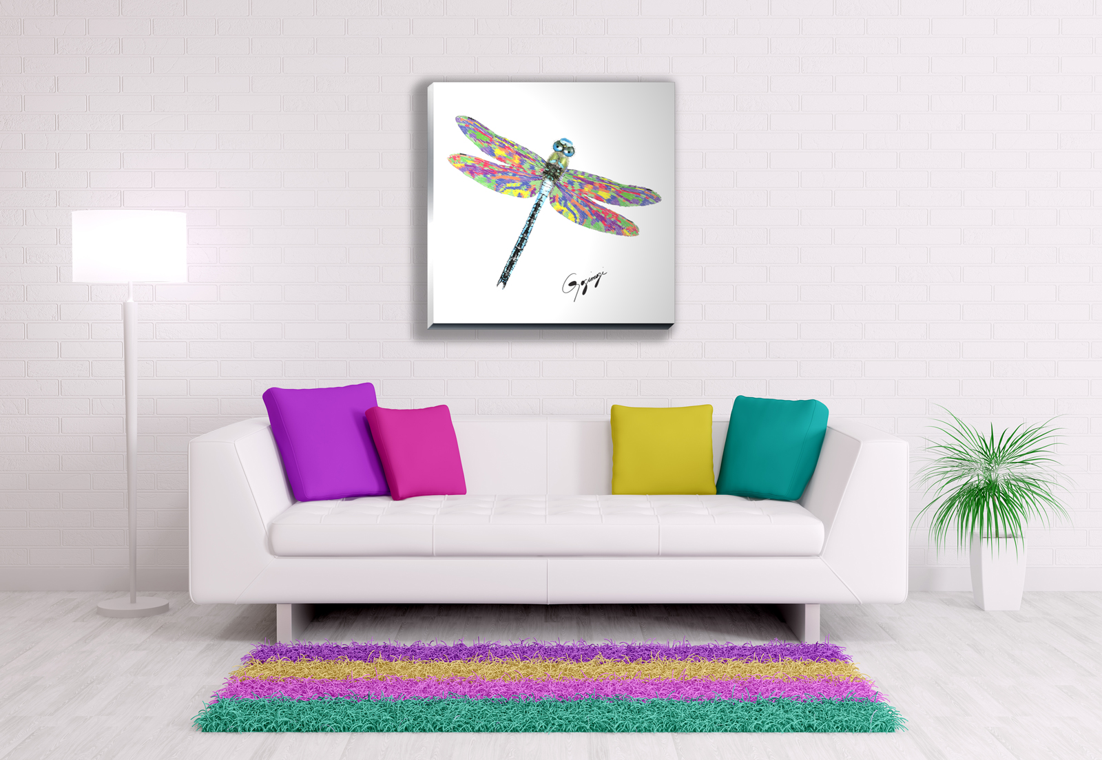 Dragonfly Wall Art dragonfly wall art on glass or metal – gogimogi