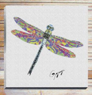 Gogimogi-Wall-Art-Dragonfly-on-Canvas-with-bg