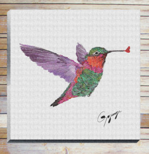 Gogimogi-Wall-Art-Hummingbird-on-Canvas