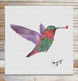 Gogimogi-Wall-Art-Hummingbird-on-Paper