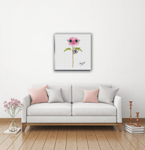 Gogimogi-Wall-Art_Dahlia_Canvas_Livingroom
