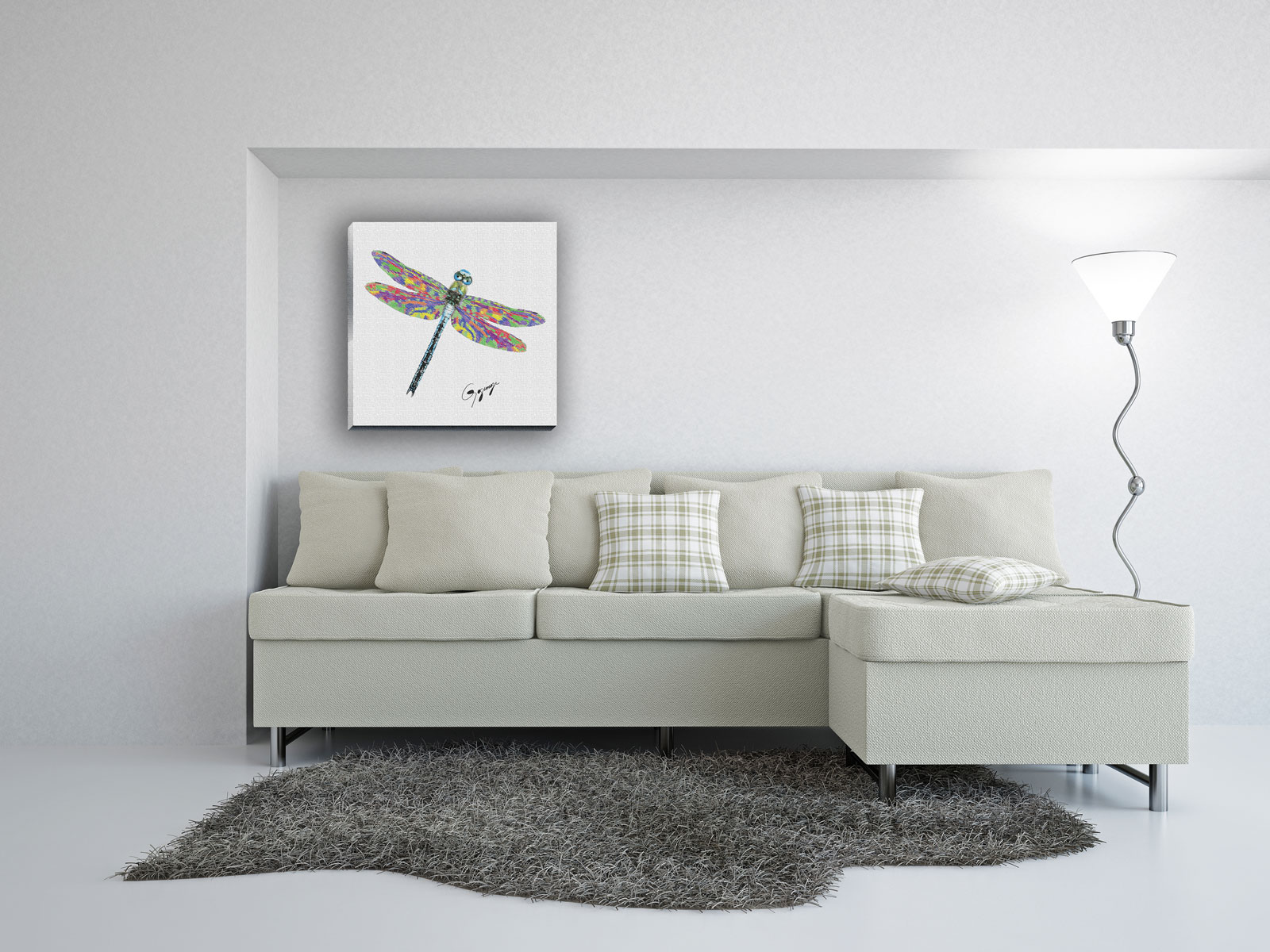 Dragonfly Nursery Wall Decor : Dragonfly wall art decor bedroom design