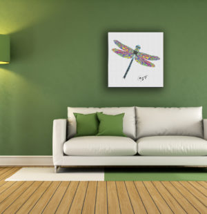 Gogimogi-Wall-Art_Dragonfly_Fine-Art-Paper_Livingroom