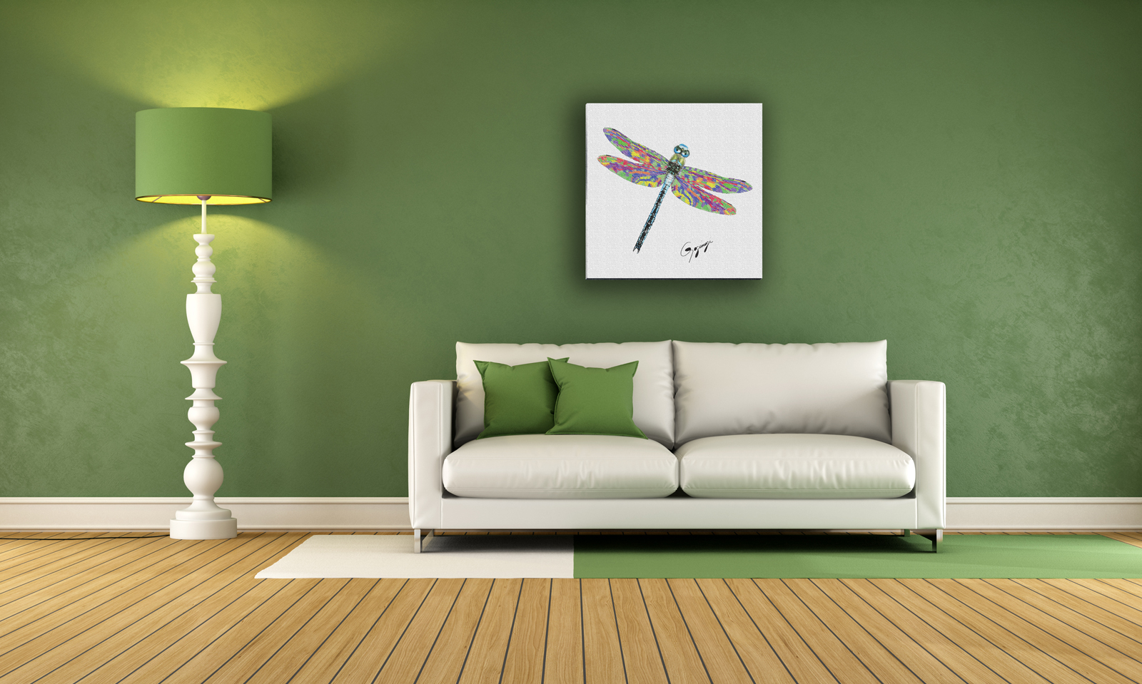 Dragonfly Wall Art dragonfly wall art on fine art or watercolor paper – gogimogi
