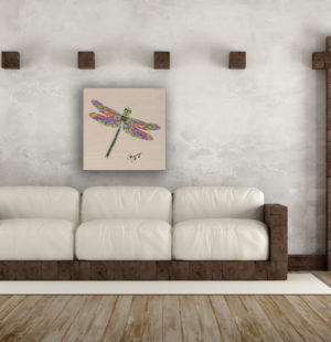 Gogimogi-Wall-Art_Dragonfly_Wood_Livingroom