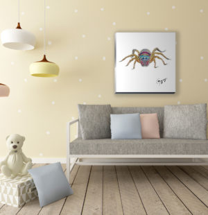Jumping-spider-children's-room-1