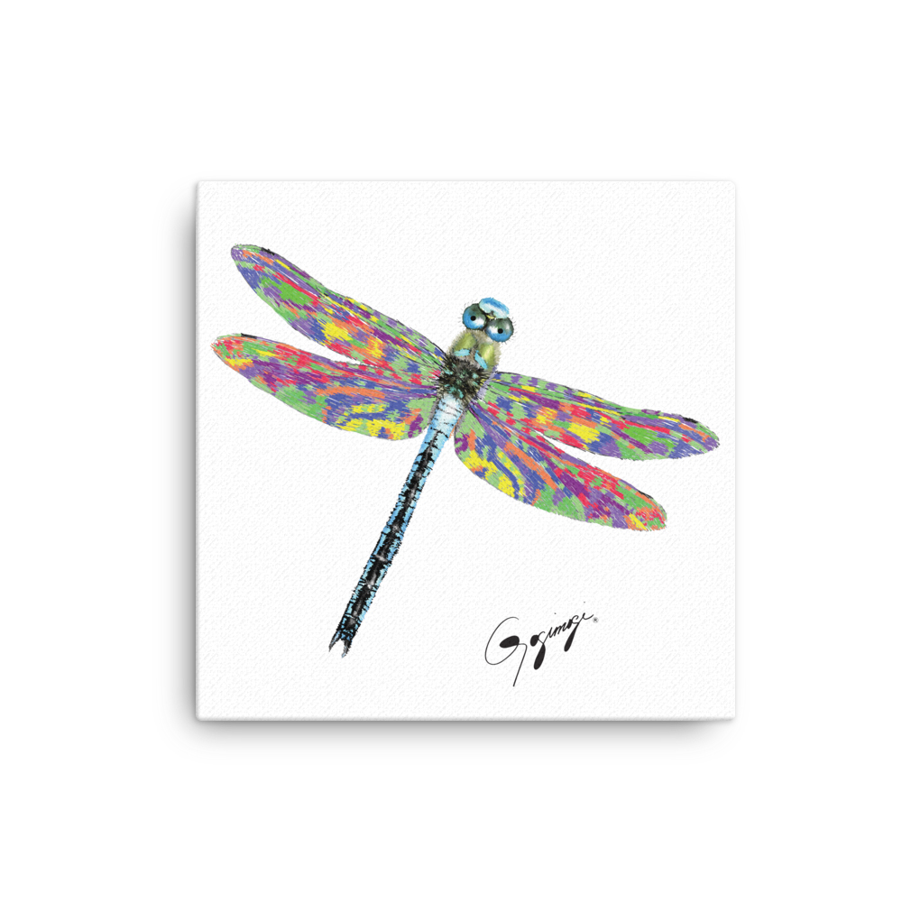 Dragonfly Wall Art By Gogimogi U2013 Dragonfly Design On Canvas U2013 Dragonfly  Digital Print U2013 Dragonfly Wall Decor U2013 Modern Wall Art