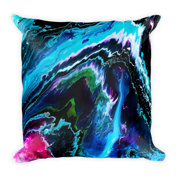 Designer Decorative Throw Pillow With Abstract Art By Gogimogi Classy Designer Decorative Throw Pillows